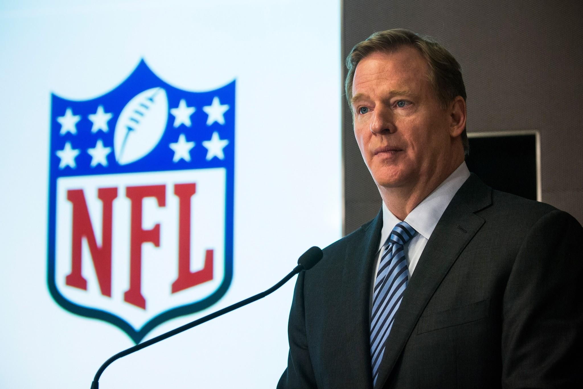 Commissioner Roger Goodell says the NFL would consider the use of medicinal marijuana to treat injured players.