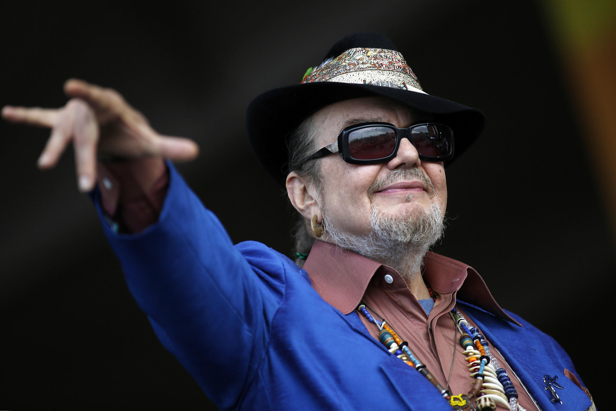 Dr. John to play the 2014 Chicago Blues Festival.