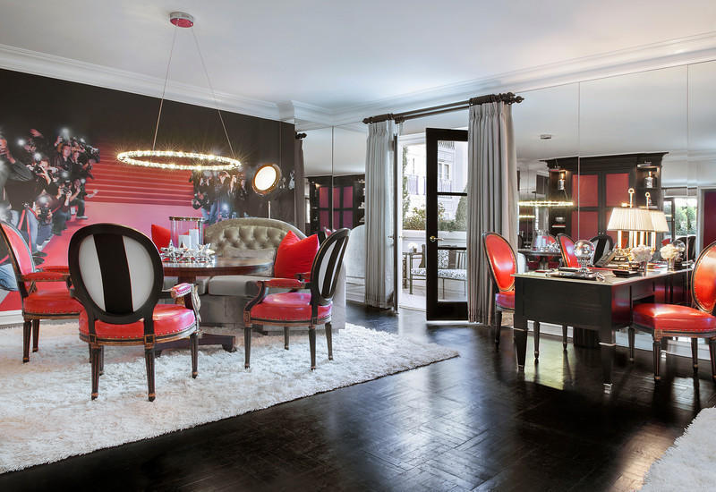 The Design Firm Forchielli Glynn Designed A Suite For Peninsula That Embodies Modern Hollywood Glamour