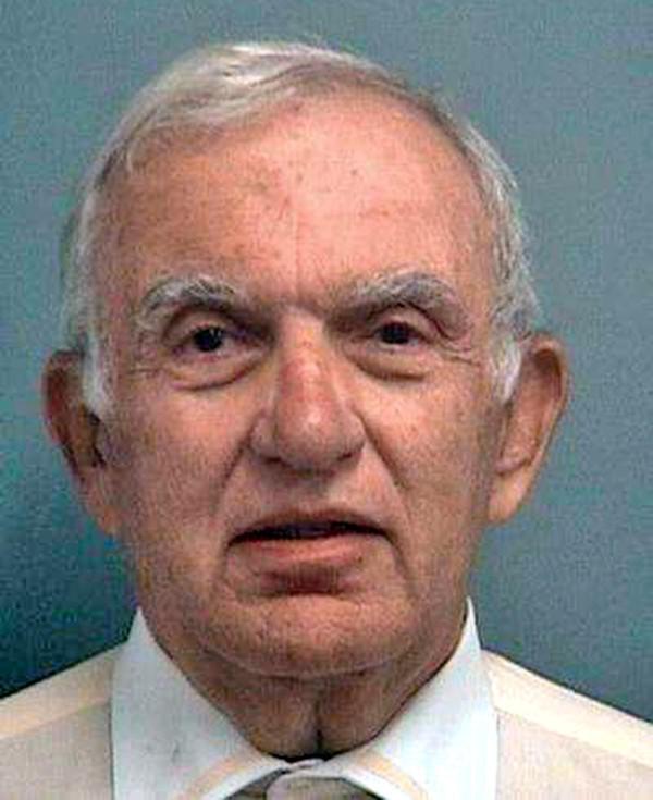 Dennis DeMartin jail mug. He was booked at 6:46 p.m. Monday night.