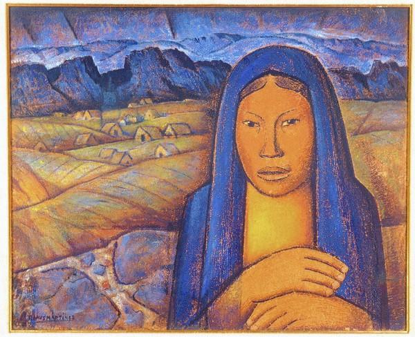 Alfredo Ramos Martinez, La India del Pueblito, ca. 1930.