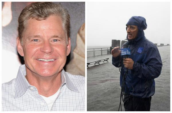 Dan Patrick and Jim Cantore