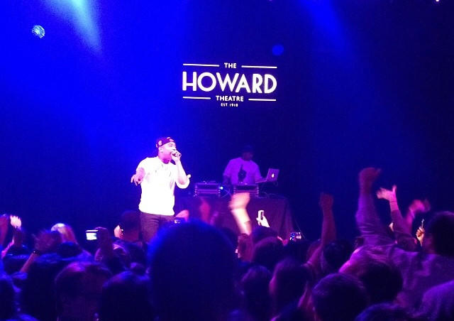 Rapper Ja Rule performed at the Howard Theatre last Friday.