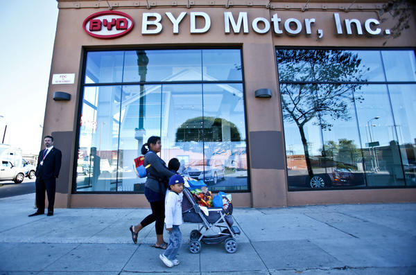 BYD headquarters