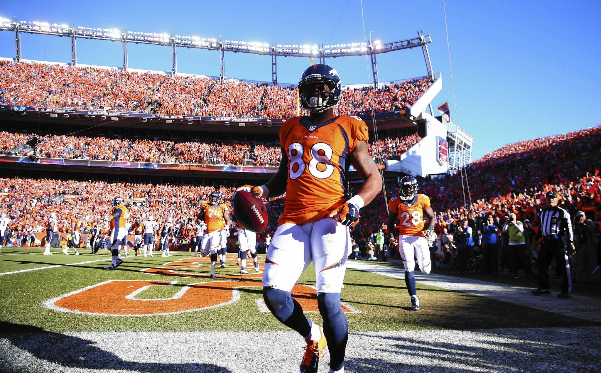 When Demaryius Thomas was 11 years old, police entered his mother's house in Montrose, Ga., and arrested both her and his grandmother on charges of selling drugs.