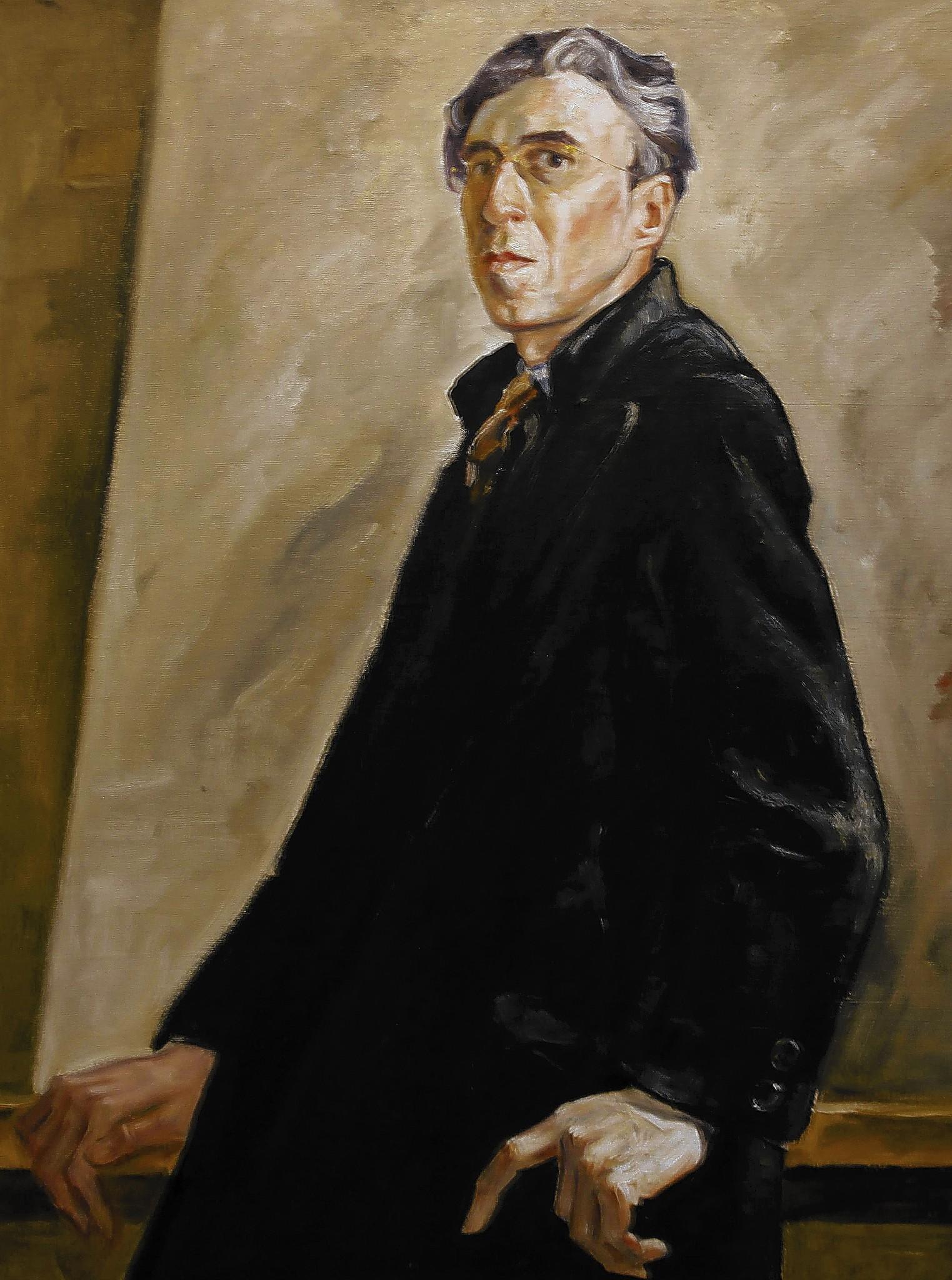 Self portrait, Clyfford Still museum