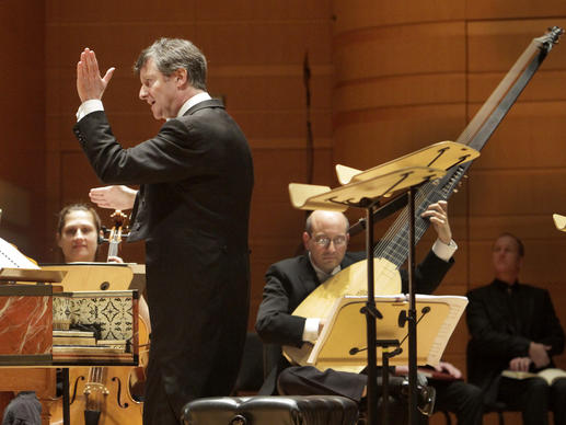 "Harry Bicket conducts the English Concert and the Choir of Trinity Wall Street in Handel's ""Theodora"" at Renée and Henry Segerstrom Concert Hall in Costa Mesa."