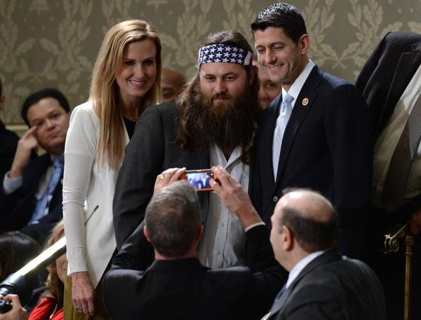 """Duck Dynasty"" stars and Paul Ryan"