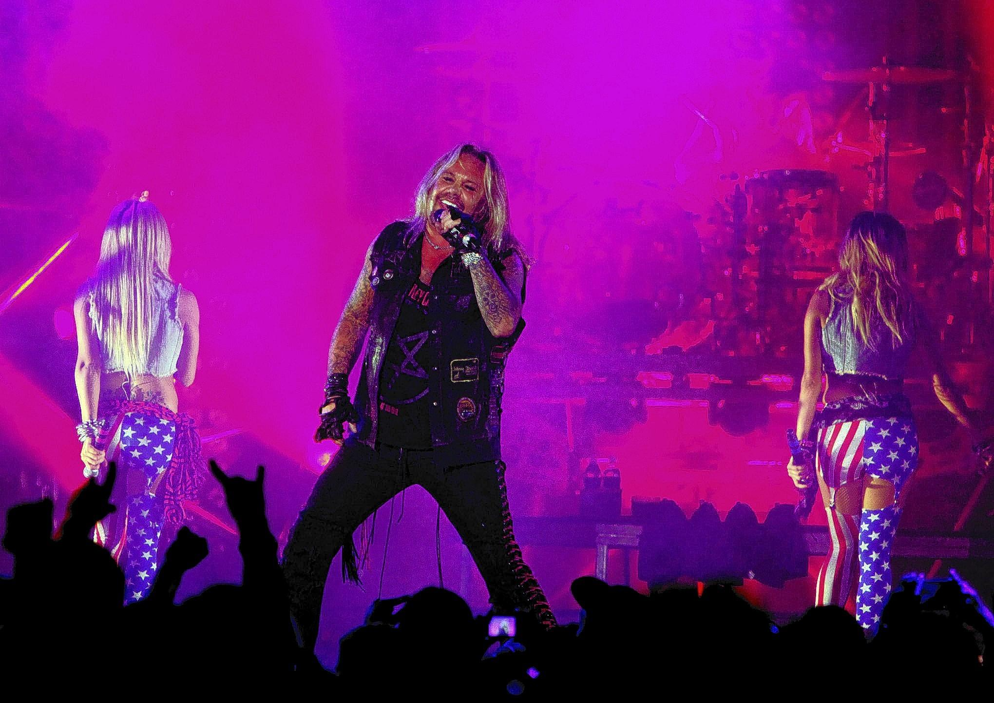 Vince Neil of Motley Crue performs at the Sands Bethlehem Event Center on May 20, 2013.