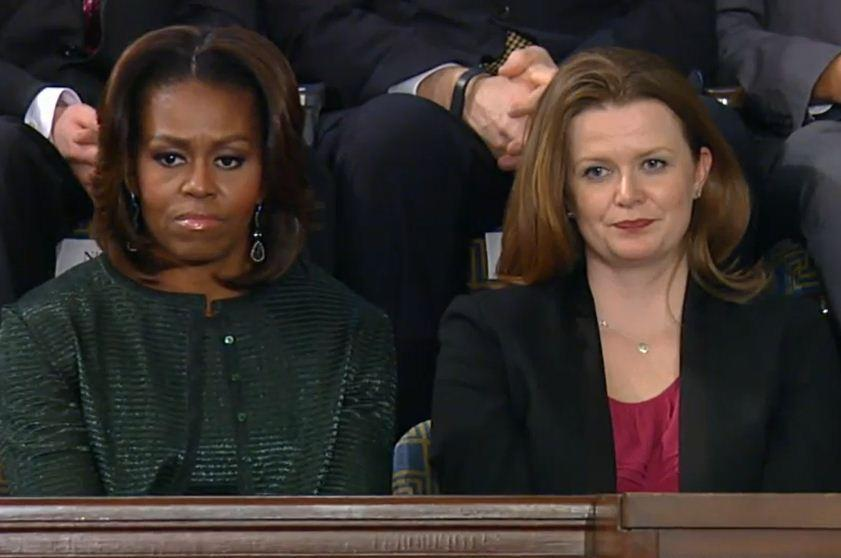 Misty DeMars of Oak Park was a guest of First Lady Michelle Obama at the State of the Union address.