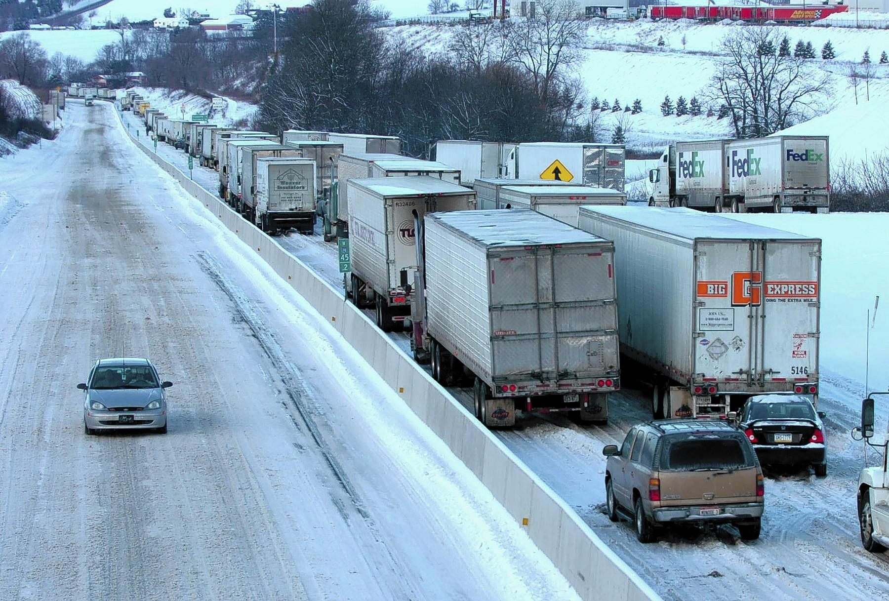 Some truckers, such as those caught in a traffic jam on Interstate 78 in western Lehigh County a few years ago, say the drivers of cars are to blame for most problems.