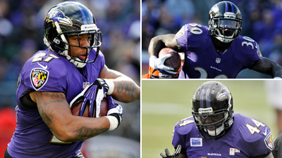 Reviewing the Ravens running backs