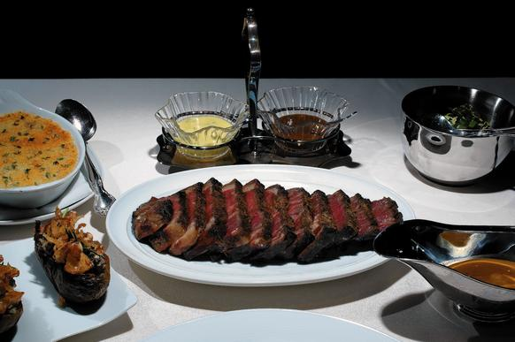 "Steak at <a href=""http://chicago.metromix.com/venues/mmxchi-next-venue"" target=_""blank"">Next restaurant</a>."