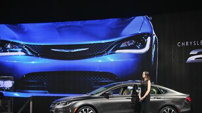 Chrysler fuels profits at newly merged Fiat Chrysler Automobiles