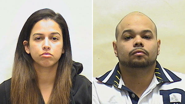 Mariely Colon Rodriguez, left, and Hector Rodriguez, were arrested in Middletown after police raided an apartment and seized thousands of dollars worth of cocaine, crack cocaine and marijuana.