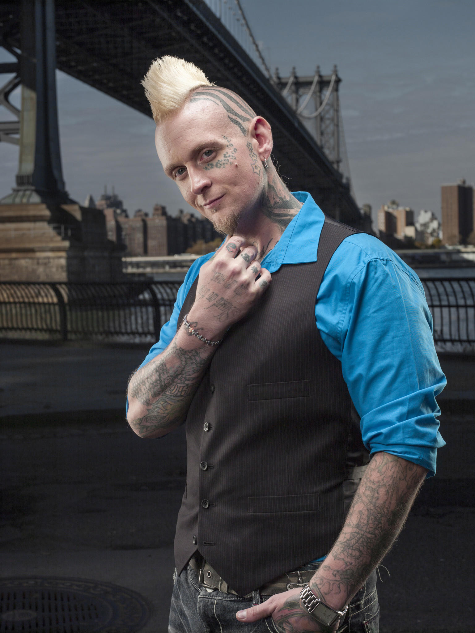 "Halo, owner/artist at Black Lotus Tattoo in Severn, is a contesant on Spike TV's ""Ink Master"" Season 4 which premieres on Tuesday, Feb. 25 at 10 p.m."