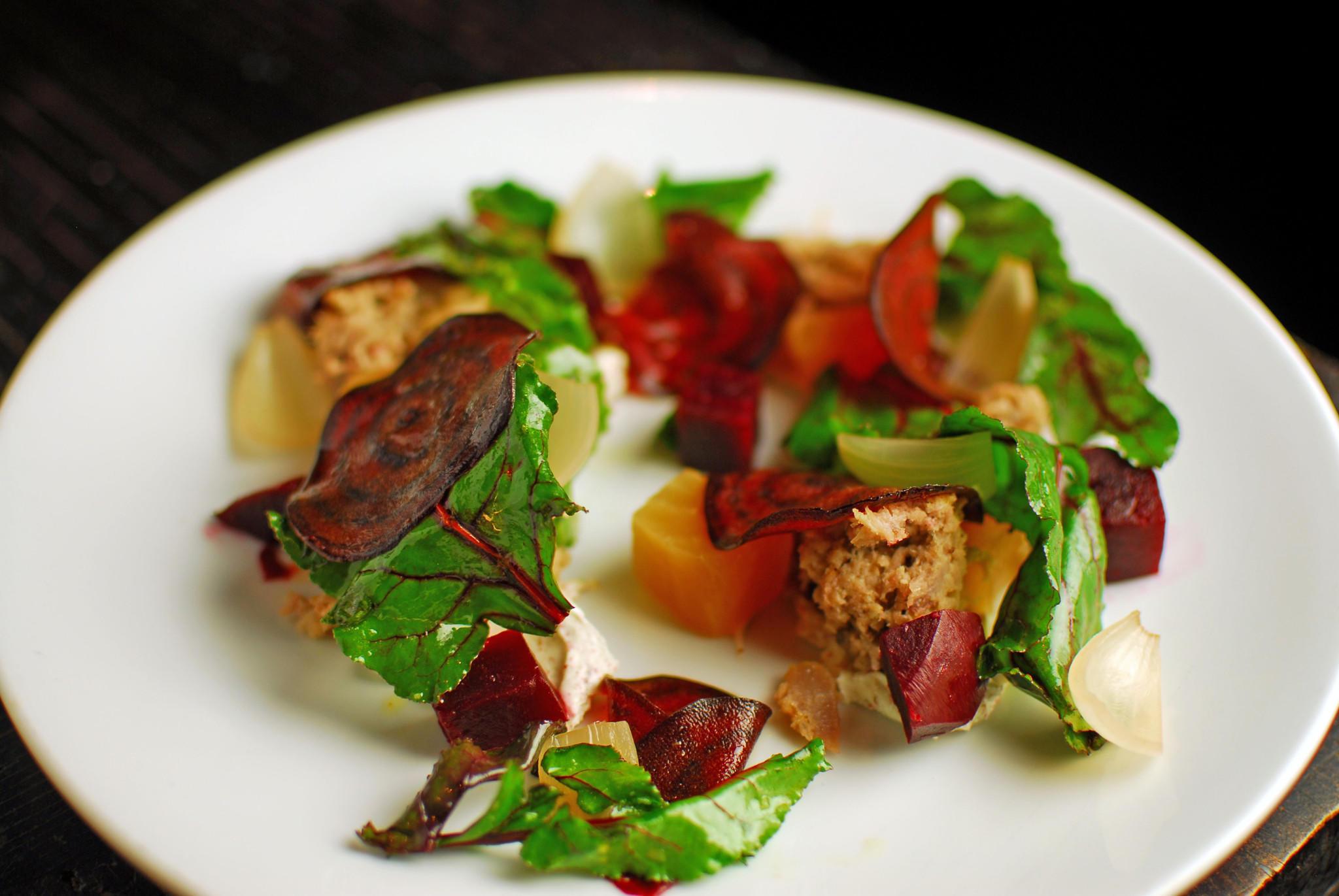 Telegraph's duck confit salad