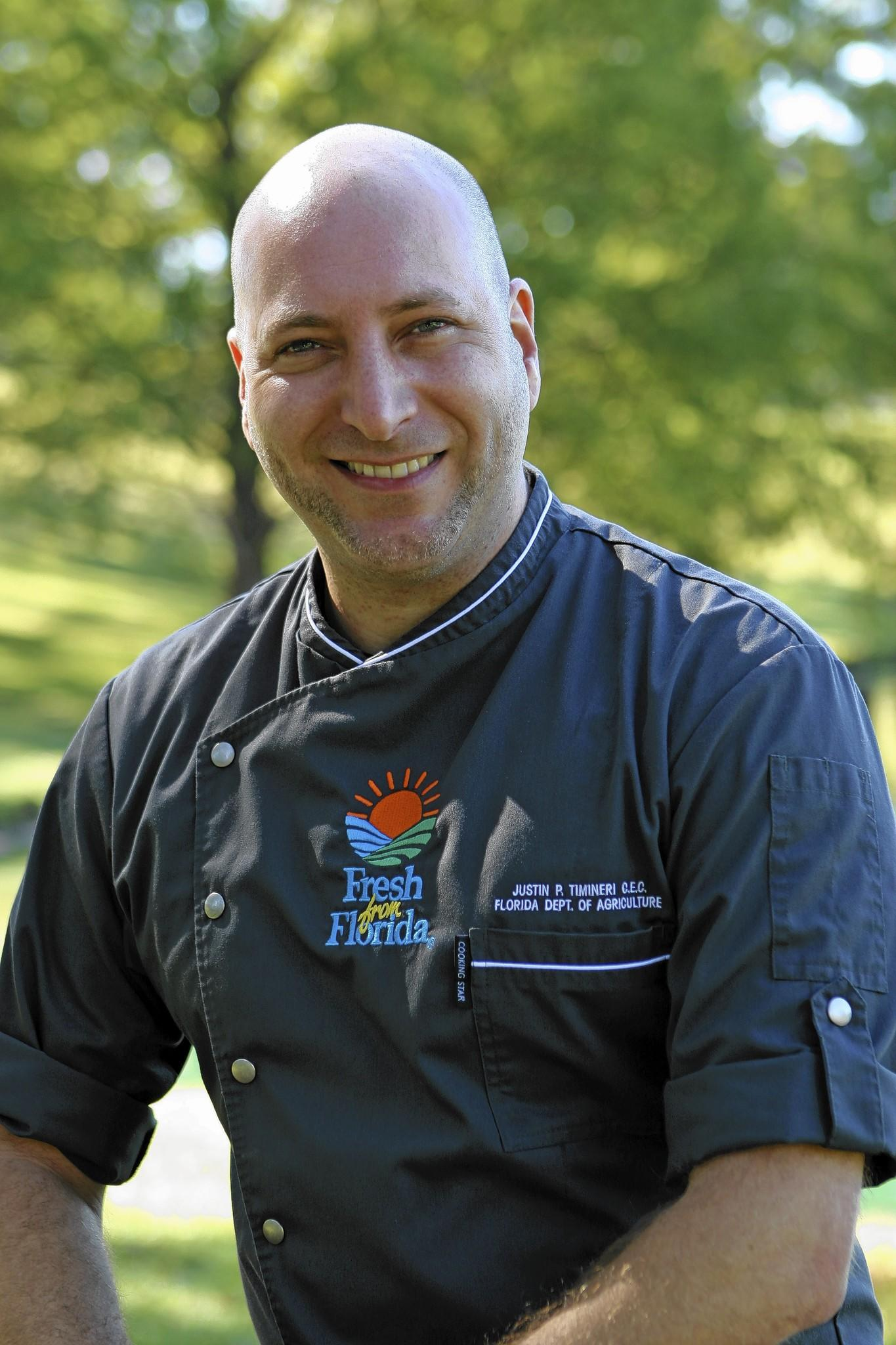 Justin Timineri is an executive chef and Florida's culinary ambassador.