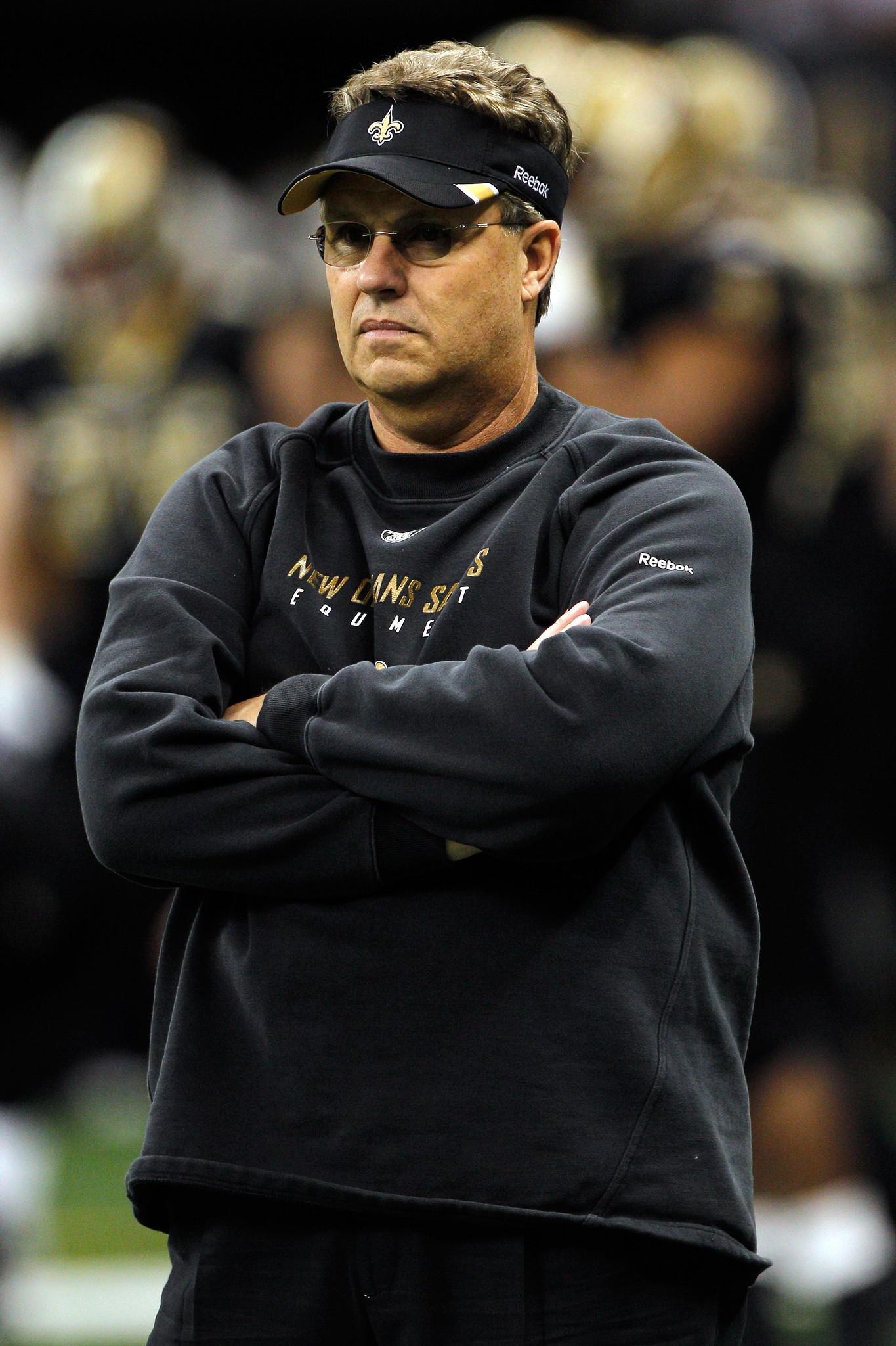 Former Saints defensive doordinator Gregg Williams.