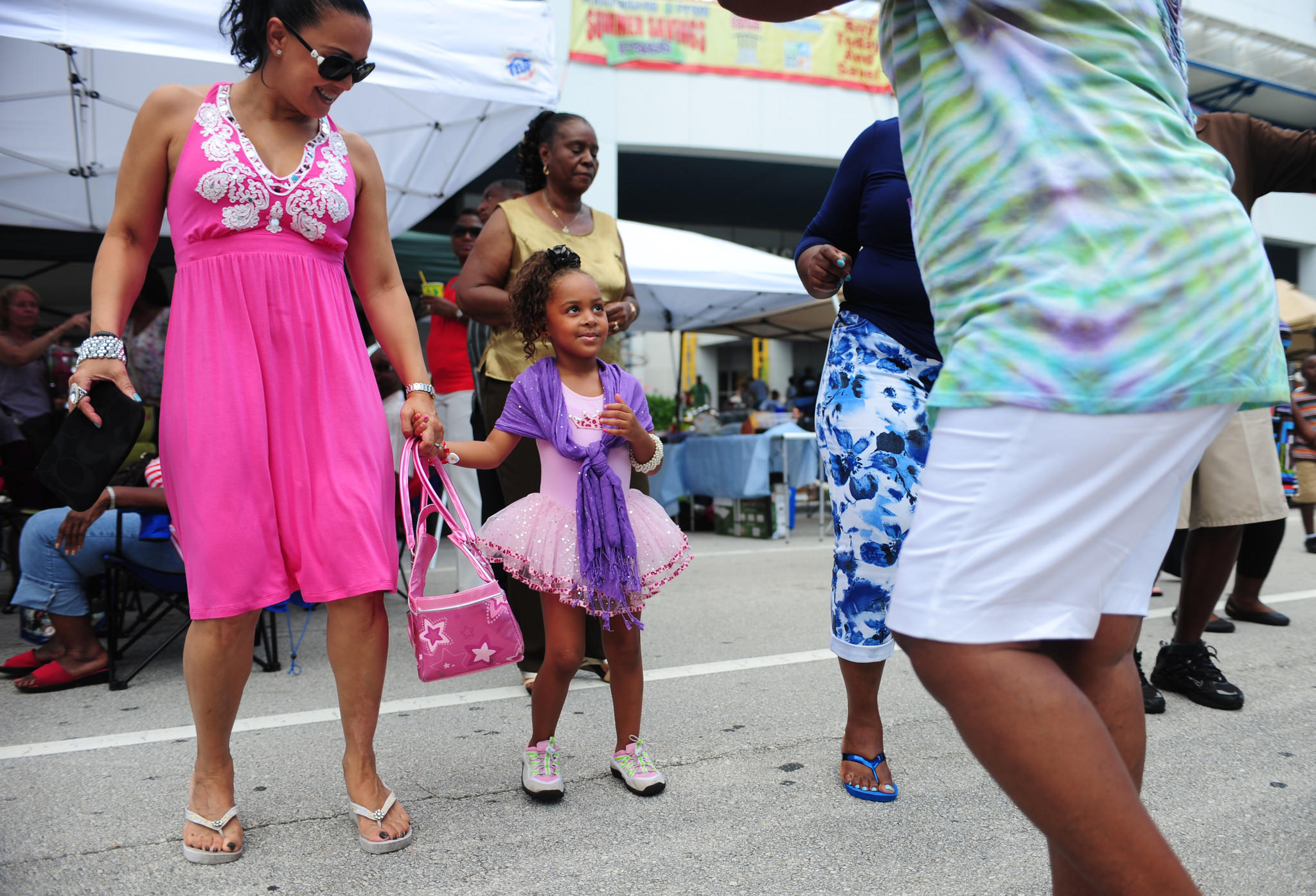 Chayanne Johnson, age 4, dances at the SunTrust Sunday Jazz Brunch at the Riverwalk in Ft. Lauderdale in August. The series takes place on the first Sunday of every month. Free water taxi service is being offered to and from the event in February.