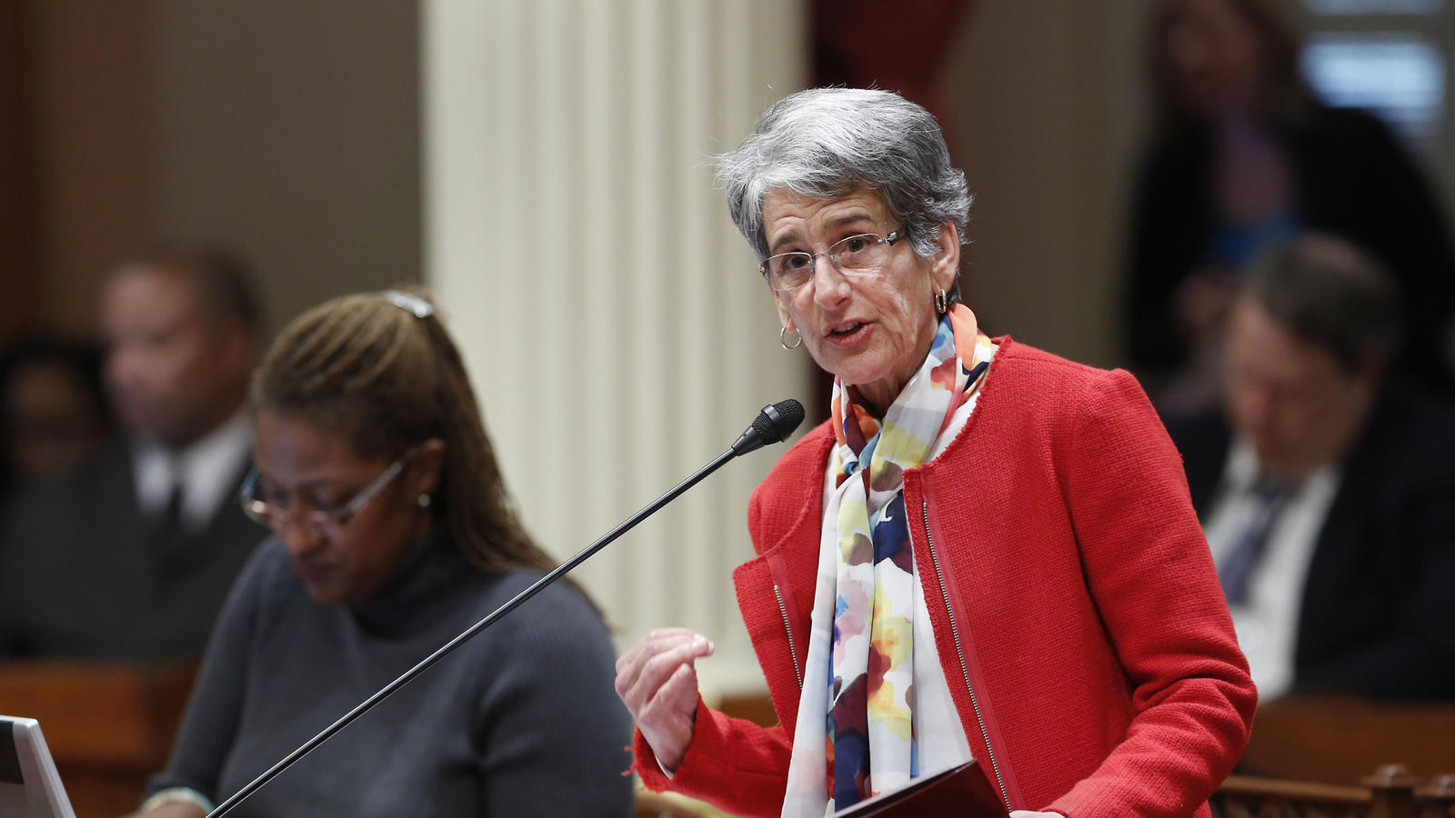 State Sen. Hannah-Beth Jackson (D-Santa Barbara). (Rich Pedroncelli / Associated Press)