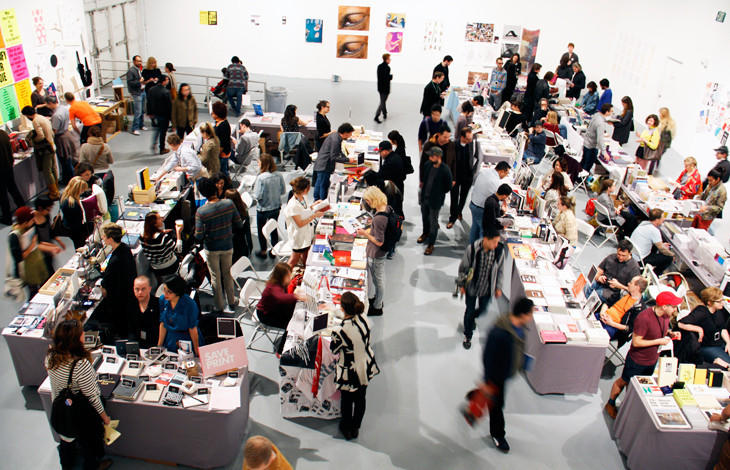 The L.A. Art Book Fair in 2013 was expected to get 5,000 visitors. It got 15,000.