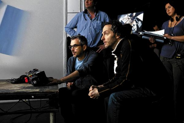 "Cuaron and Lubezki work on ""Gravity"""