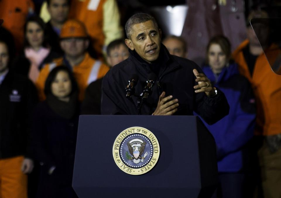 President Obama follows up the State of the Union speech with an appearance at a Pennsylvania steel plant.