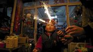 In China, smog woes eroding new year fireworks tradition