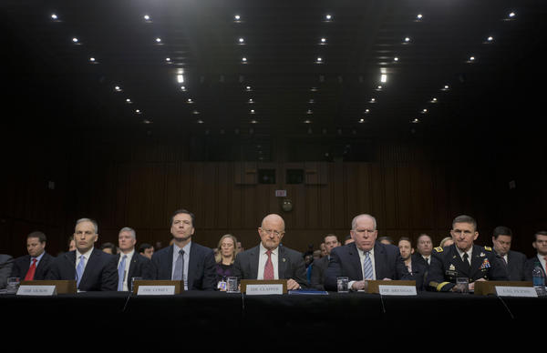 Intelligence officials Senate hearing