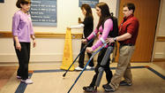 'Exoskeleton' helps paraplegics walk again