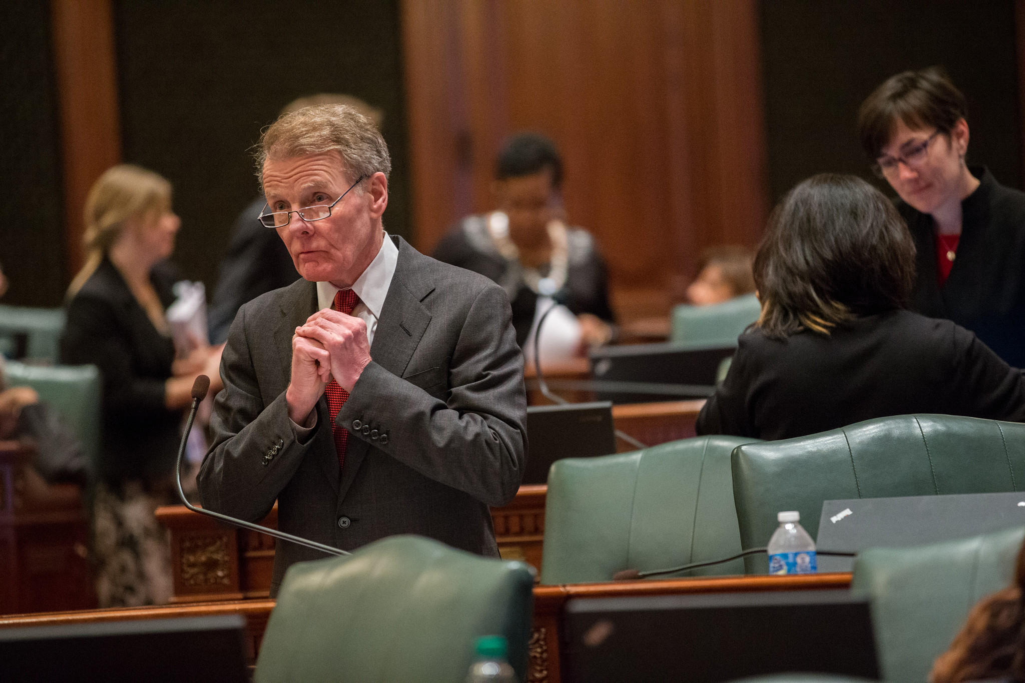 House Speaker Michael Madigan, D-Chicago in Springfield on Tuesday, December 3, 2013.