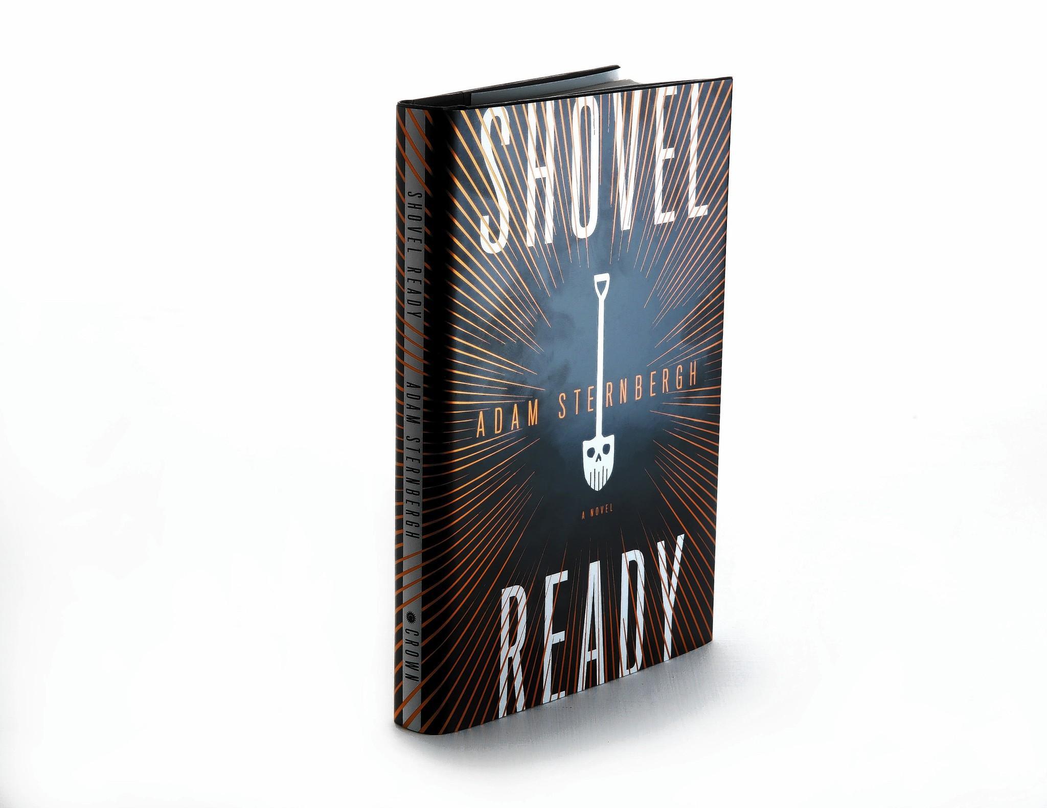 """Shovel Ready,"" Adam Sternbergh's debut novel, is about a hit man who calls himself a ""garbageman."""