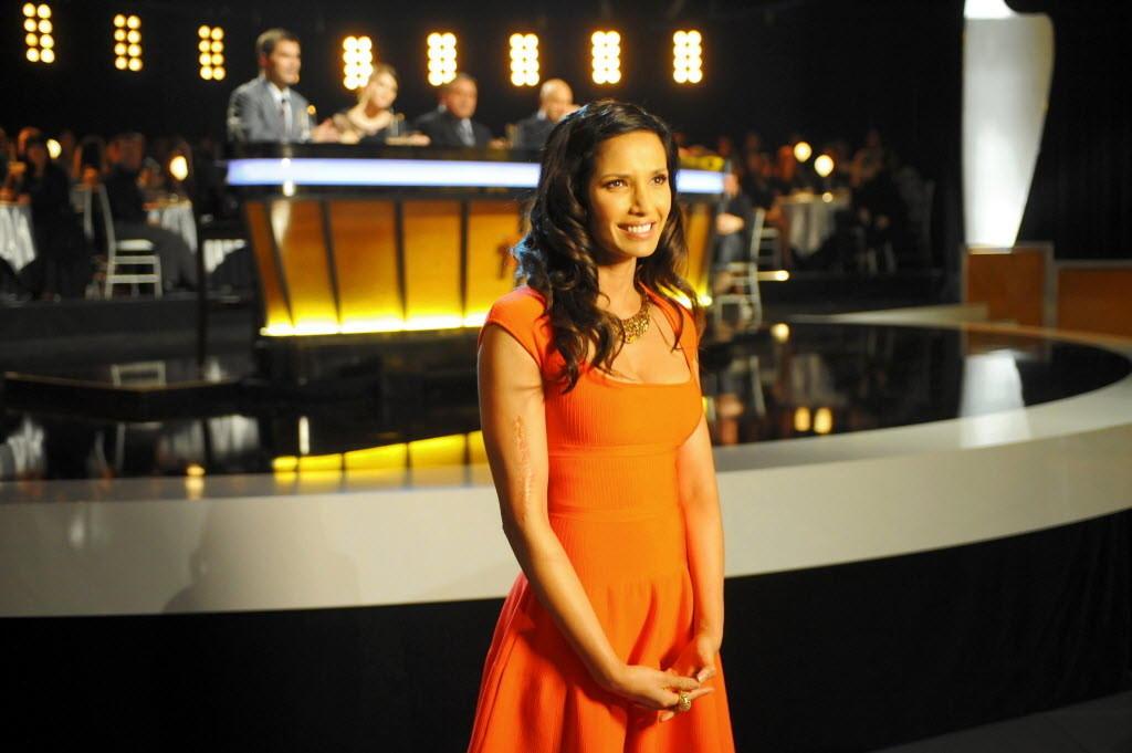 """Top Chef"" host Padma Lakshmi."
