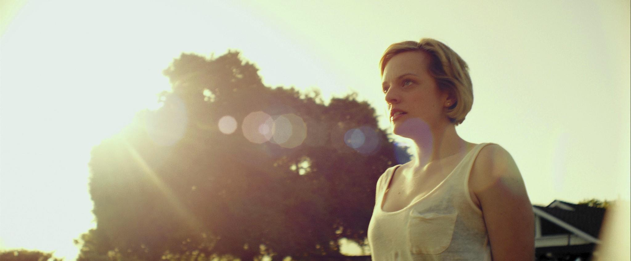 "Elisabeth Moss in ""The One I Love."""