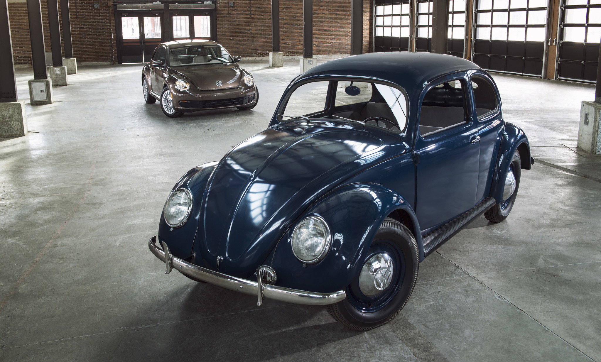 First And Latest Volkswagen Beetle La Times