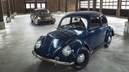 First and latest Volkswagen Beetle