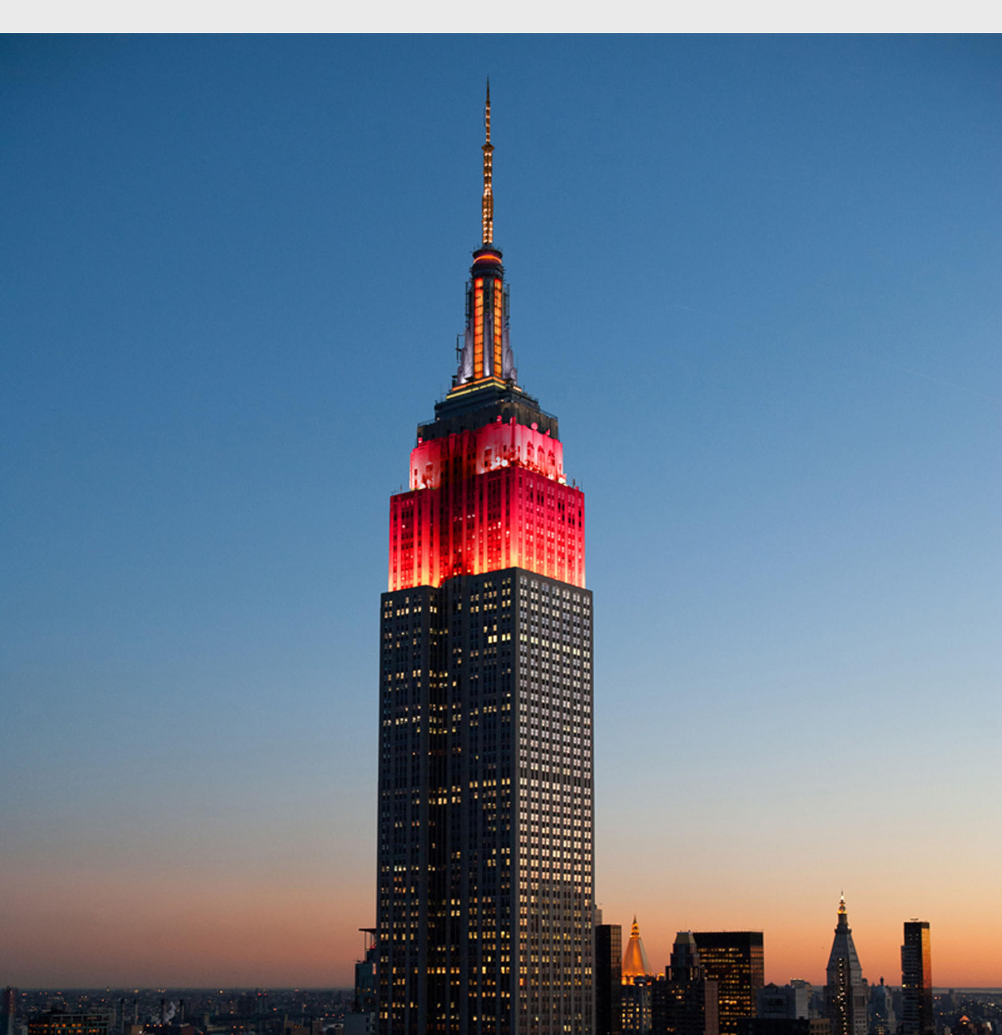 Gold And Red Lights On The Empire State Building Will Flash Friday In Honor  Of Chinese