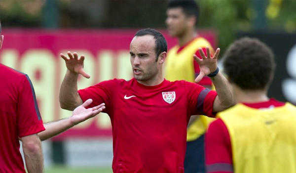Galaxy star Landon Donovan doesn't know what his role on the U.S. national team will be or even if he'll start during the FIFA World Cup in Brazil this summer.