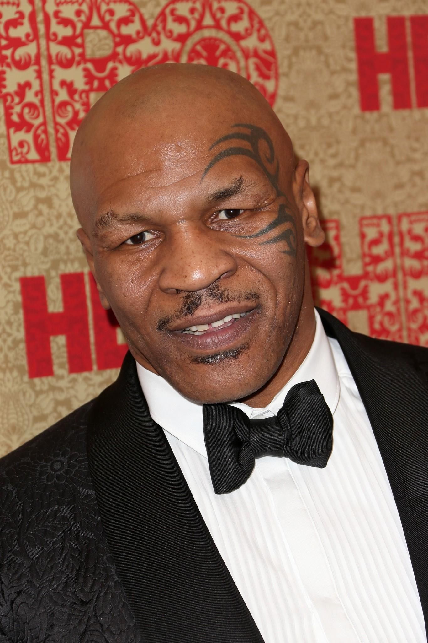 Former Boxer Mike Tyson attends HBO's Post 2014 Golden Globe Awards Party held at Circa 55 Restaurant.