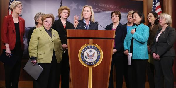 Female Senate Democrats Call For Raising Of Minimum Wage For Women