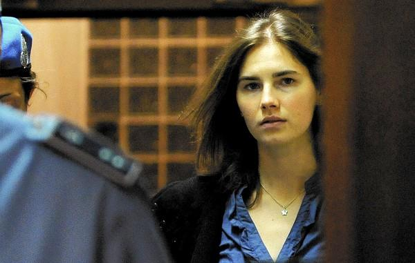 Amanda Knox arrives in court in Perugia, Italy, in 2011 during her first appeal case. An Italian court Thursday convicted her for a second time in the 2007 slaying of her roommate.