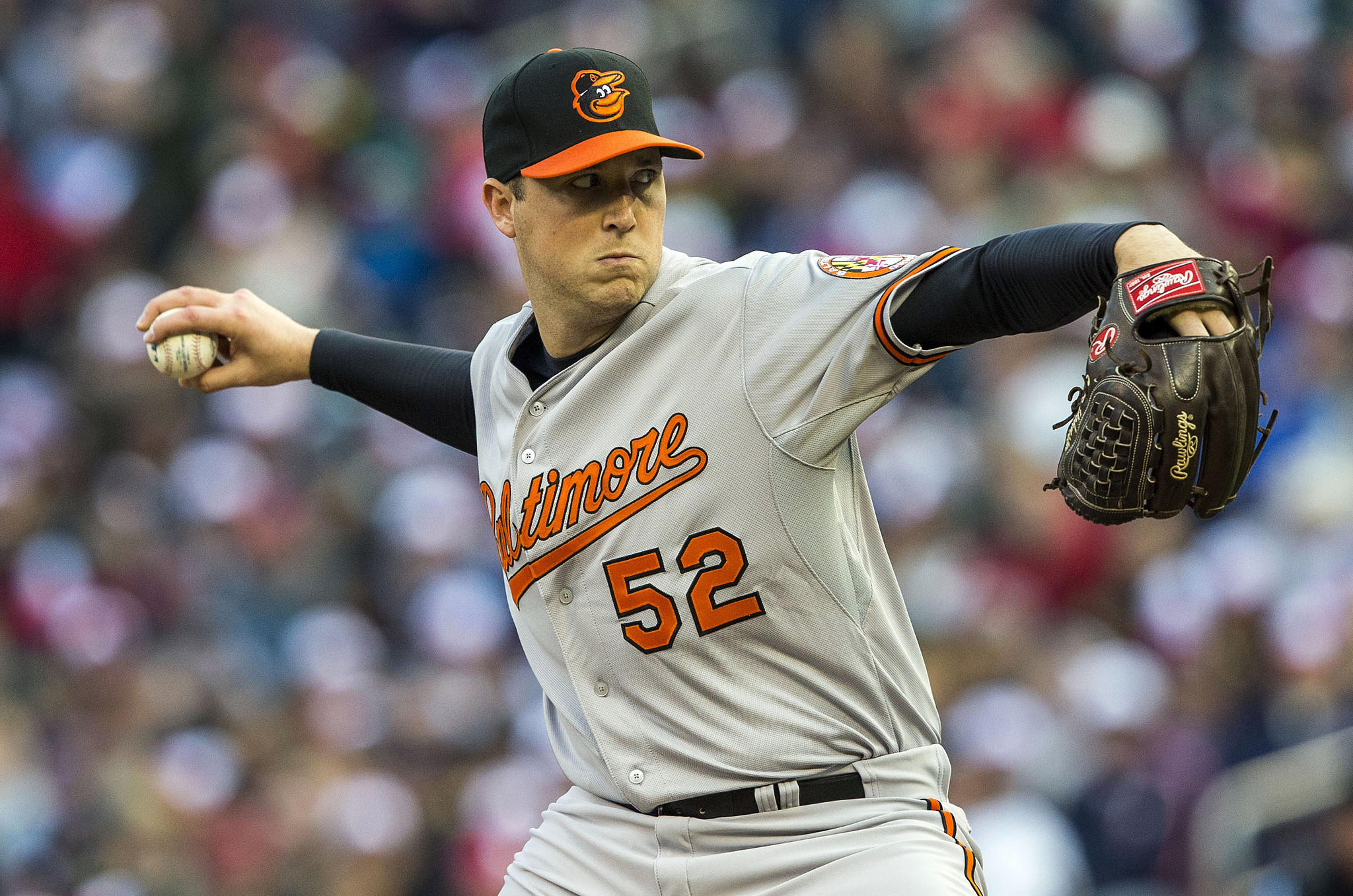 Right-hander Steve Johnson appeared in only nine Orioles games last season, making one start.