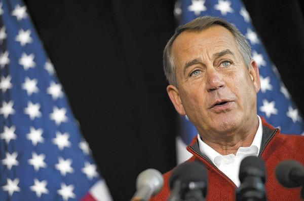 House Speaker John A. Boehner presented a draft of the Republican Party's principles on immigration reform to rank-and-file party members.