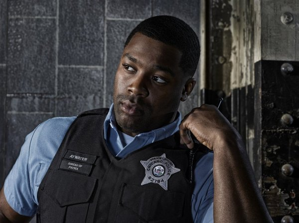 "LaRoyce Hawkins of ""Chicago P.D."""
