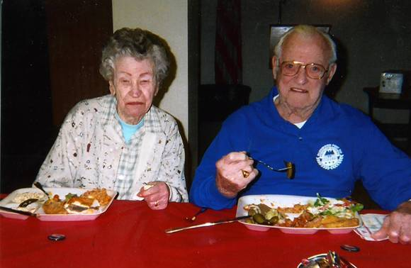John Wrana and his wife, Helen