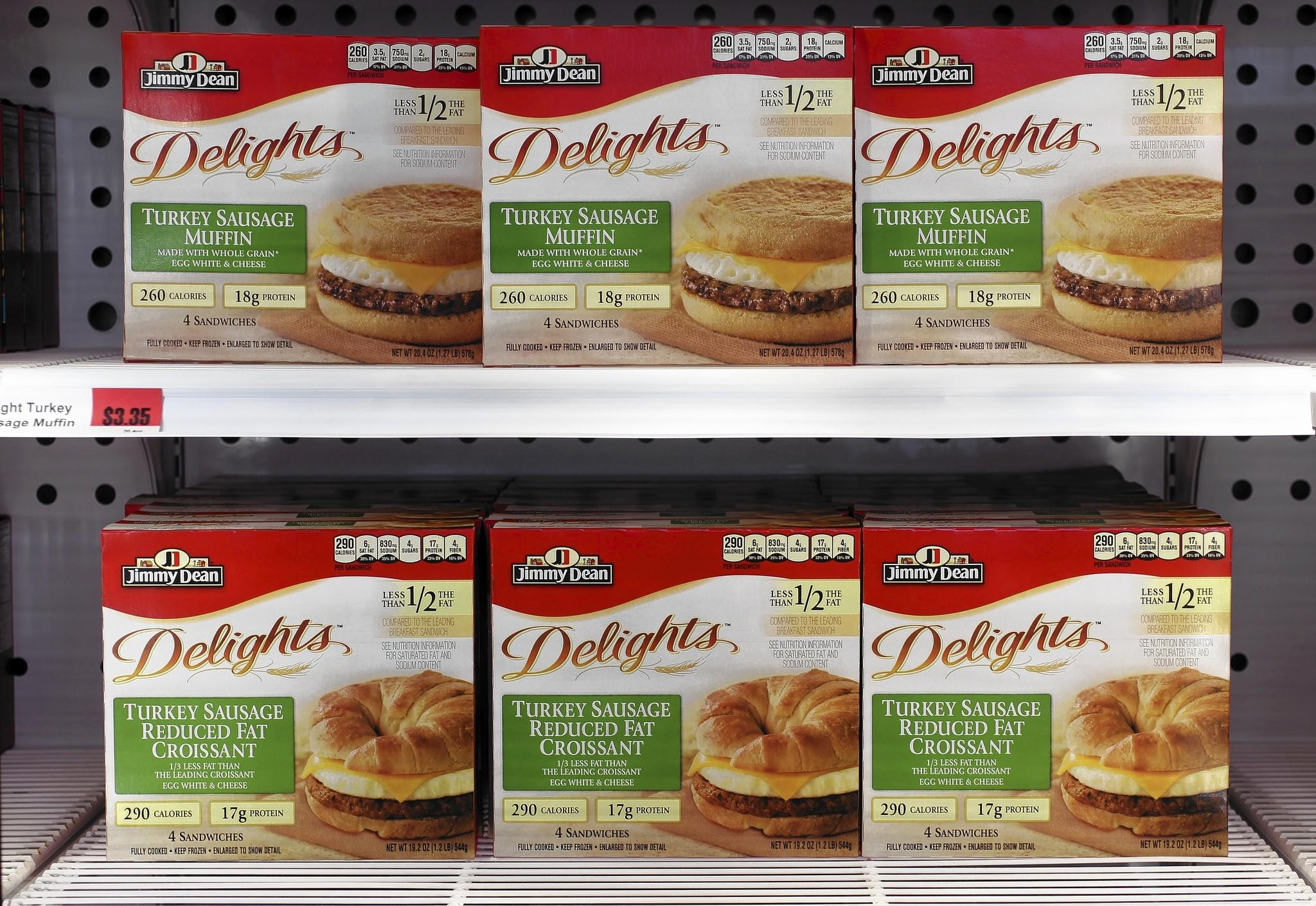 Chicago-based Hillshire Brands Co. is planning a slew of new products and hunting for new business this year as it seeks to maintain its position in meats and frozen foods, company officials said Thursday.
