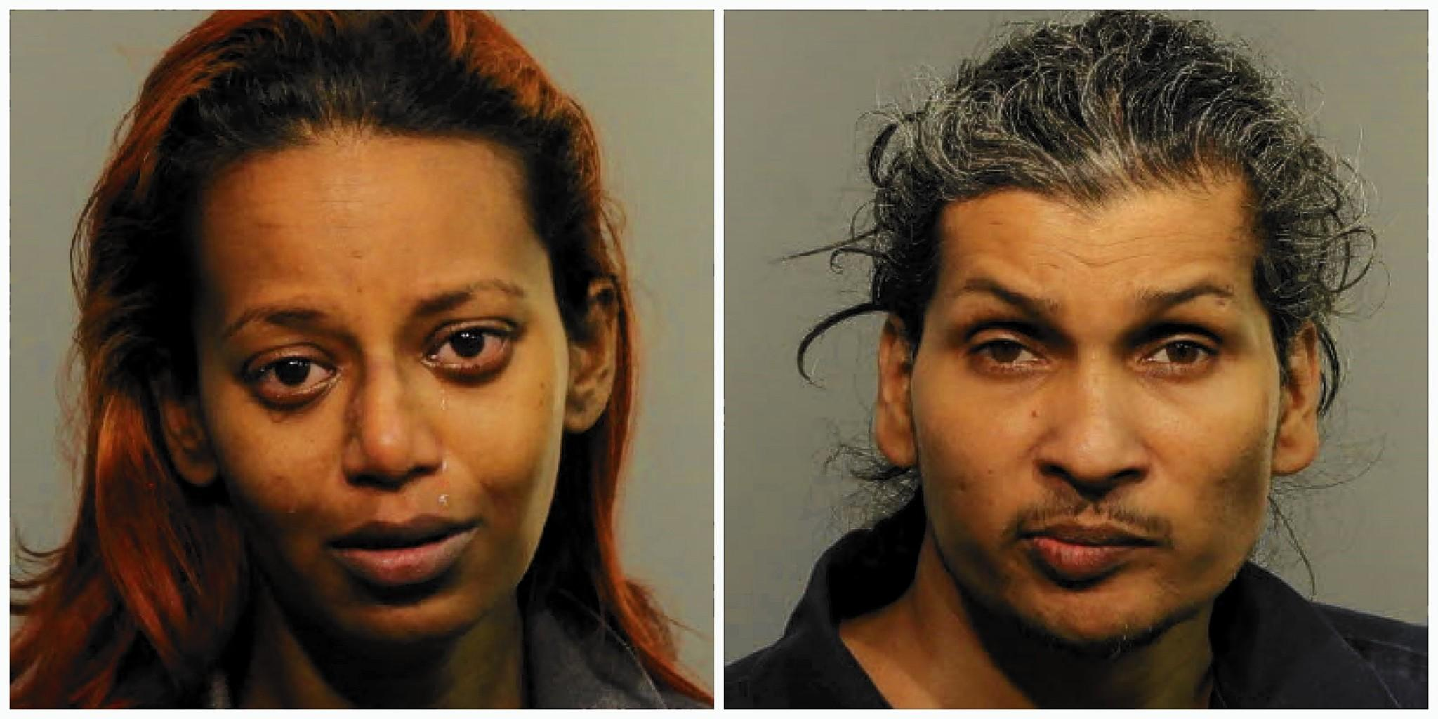 Roseanna Prasnauth and Rakesh Persaud were arrested after Sanford police said they beat his teenage child as punishment.