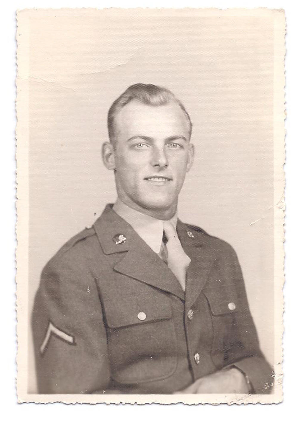 John Wrana in his Army Air Corp uniform. Family photo from Attorney Nick Grapsas.