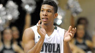 High-scoring Dylon Cormier learns that leading Loyola is hard work